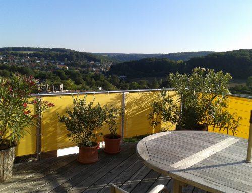 Sonnenschutz für Balkon und Garten