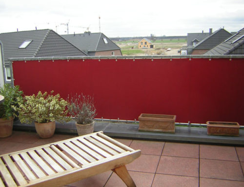 Balkonumrandung – Sichtschutz Balkon