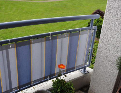 Balkonbespannungen – Balkon Sichtschutz  ein Maßanzug für Ihren Balkon
