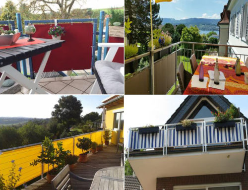 Balkonbespannung kaufen