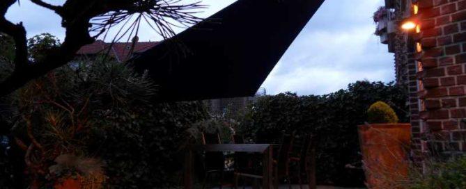 Dreieck Sonnensegel