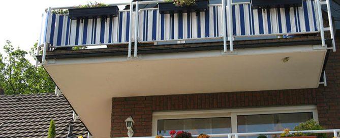 Balkonverkleidungen als Balkonsichtschutz
