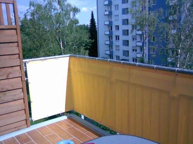 balkonverkleidung balkon sichtschutz balkonbespannung balkonumrandung. Black Bedroom Furniture Sets. Home Design Ideas