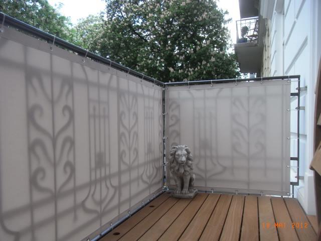 balkonbespannung sichtschutz balkon balkonbespanng balkonsichtschutz aus markisenstoff balkonverkleidung massgefertigt aus markisenstoff